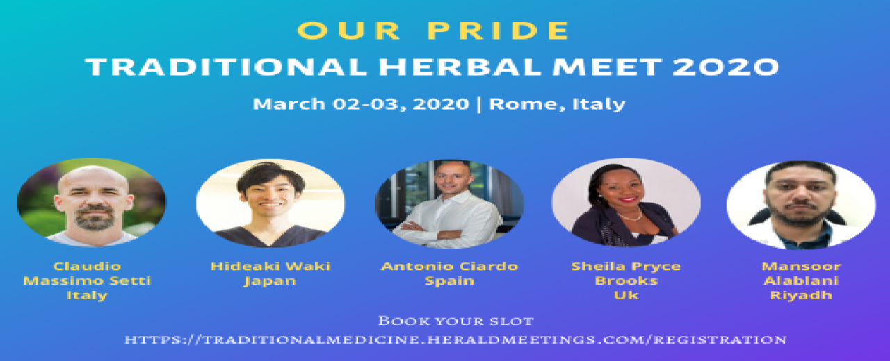 Speakers | Traditional Herbal Meet 2020